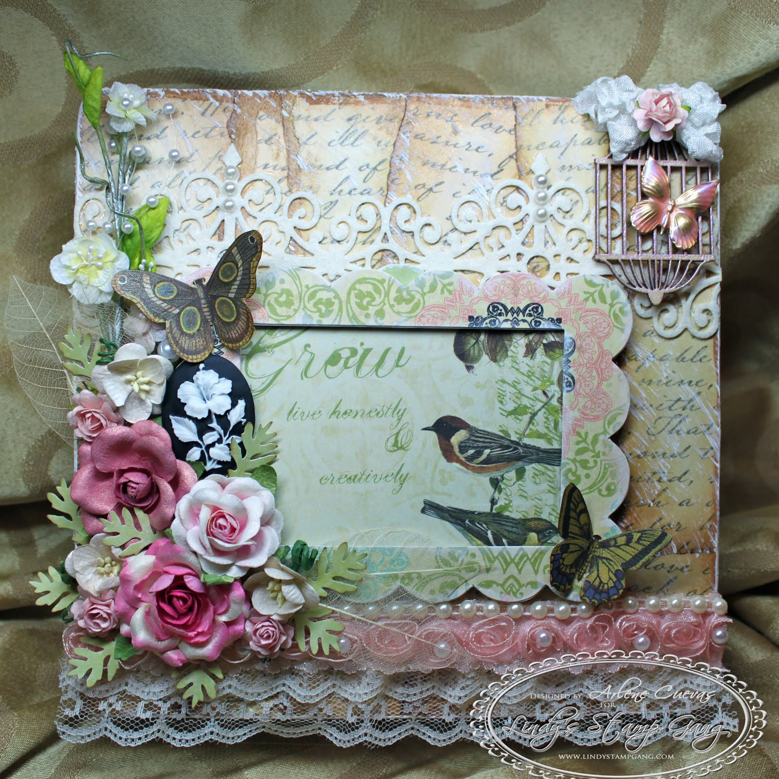 butterfly kisses paper pretties shabby chic altered cigar box. Black Bedroom Furniture Sets. Home Design Ideas