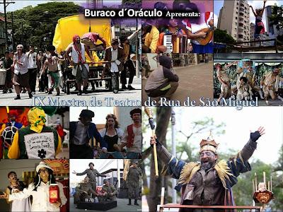 9ª Mostra de teatro de rua de São Miguel Paulista