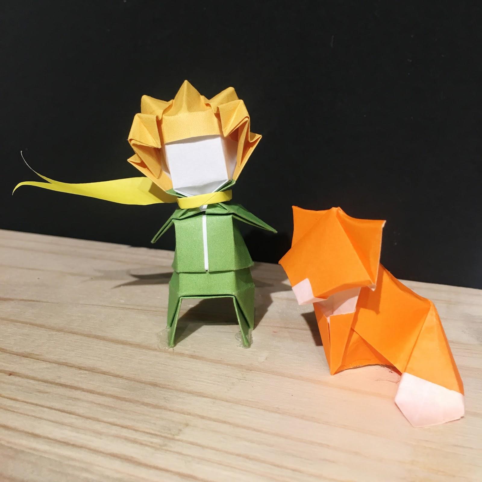 El Principito Origami papel Ana Sofía Casaverde