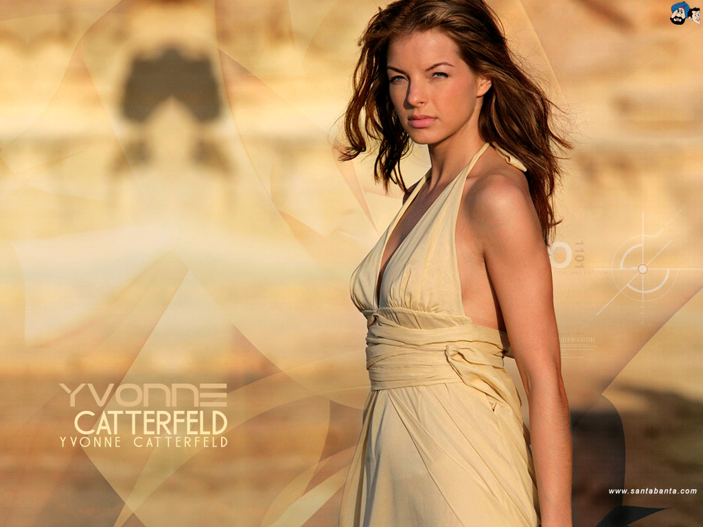 yvonne catterfeld galaxy wallpaper