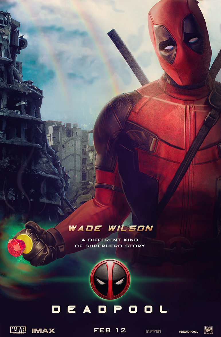 Super Punch: Deadpool movie poster concept mocking Green ... Green Lantern Movie Poster