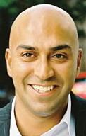 A head shot of Traveleyes founder Amar Latif