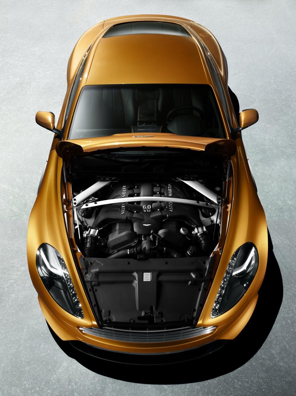 2012 ASTON MARTIN VIRAGE COUPE ENGINE SPECS