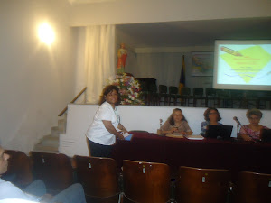Professores  Lêda  Cerqueira, Márcia Silveira,Zuraida Abud e Marineide Costa