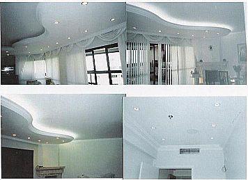 Detalhes Forro Gesso Quatro Ambientes Sancas Recortes 450159 Shtml