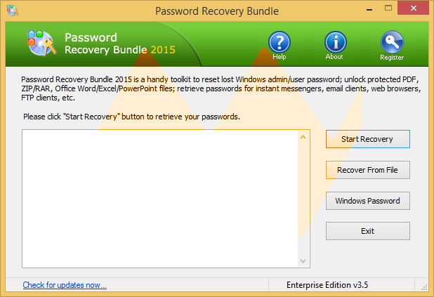 Password Recovery Bundle 2015