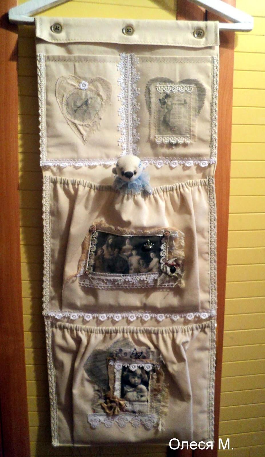 Как сделать ангел из ткани