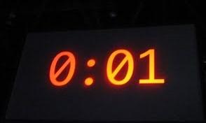 Equivalencia de un segundo