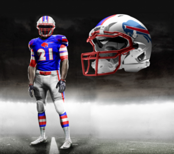 First Peek: Buffalo Bills New Uniforms?