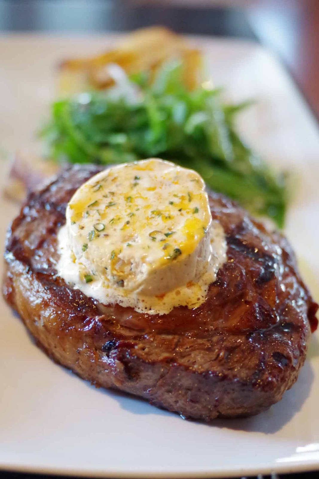 Rib eye steak image