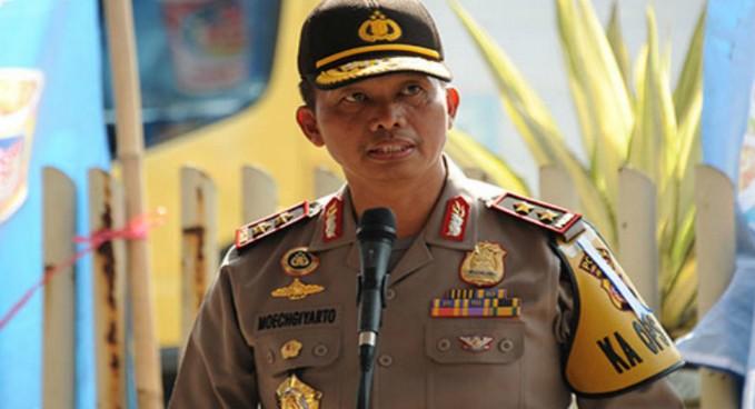 Kapolda Metro Jaya  dilantik = 20160305