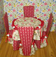 Click on Image To Download Pdf Table And Chairs Pattern