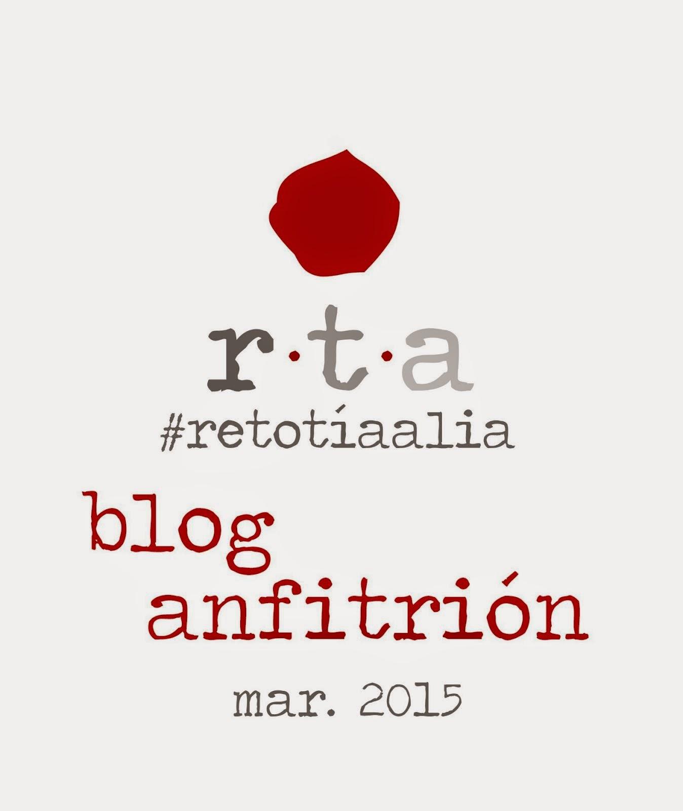 Blog anfitrión reto Tía Alia