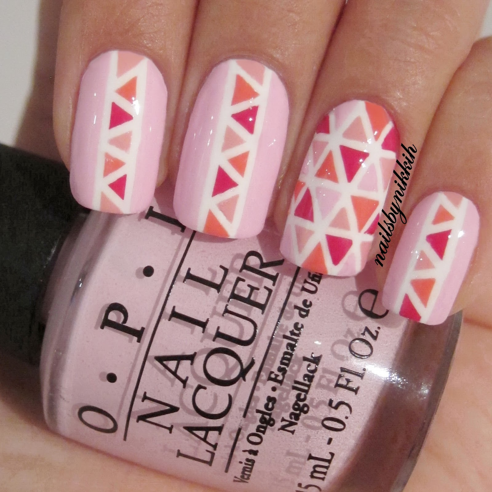 Nail Art Using Striping Tape: The Nail Art Trend: [Tutorial] The Trend: Striping Tape