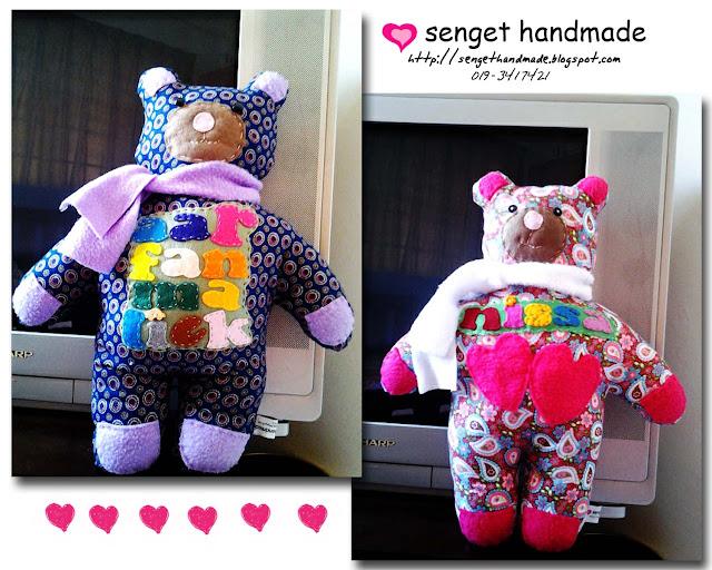 cutie teddy, handmade
