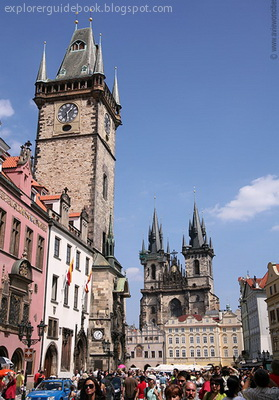 Old Town Hall Old Town Square Prague