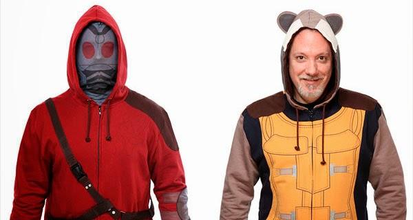 Hoodies Rocket Raccoon y Star-Lord