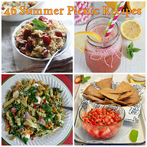 46 Summer Picnic Recipes | Taste As You Go