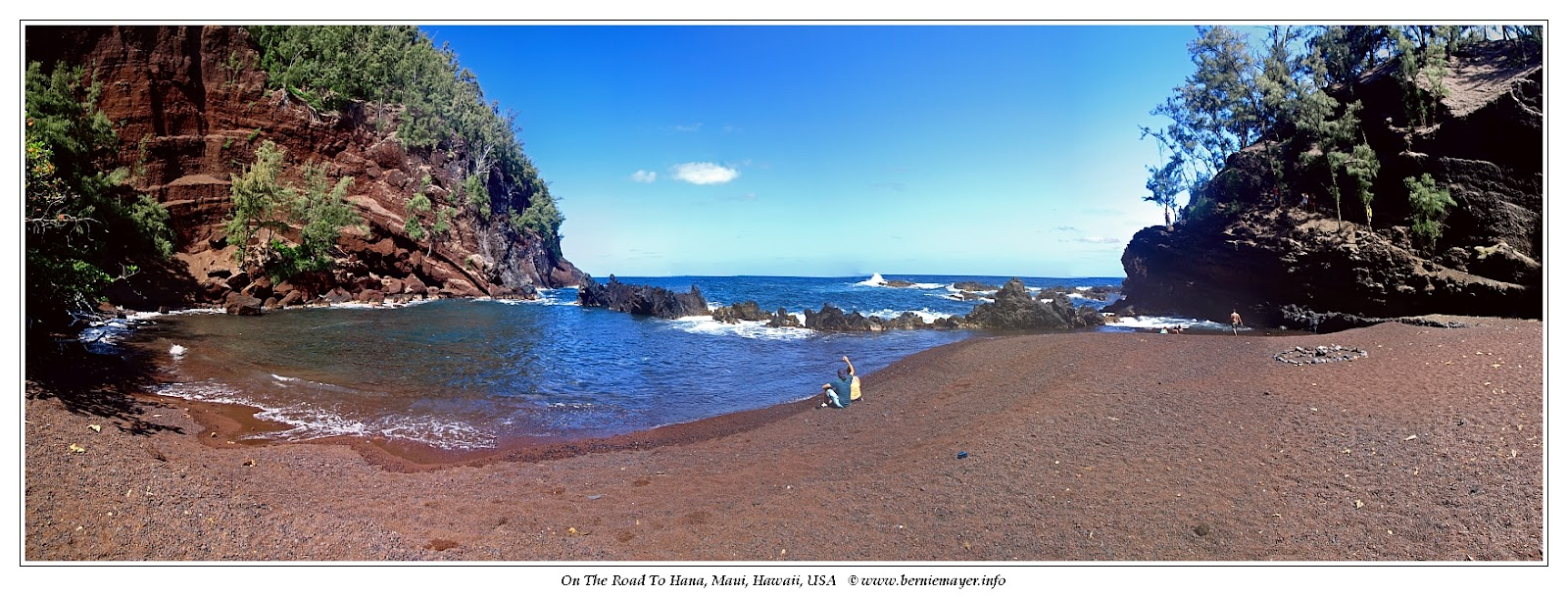 Hana, Red Sand Beach
