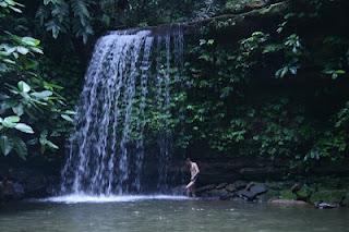 Bukit Teraja waterfalls Kuala Belait Brunei