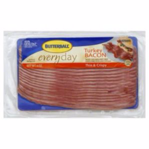 ... stockpile deal available on Butterball Turkey Bacon at HEB right now