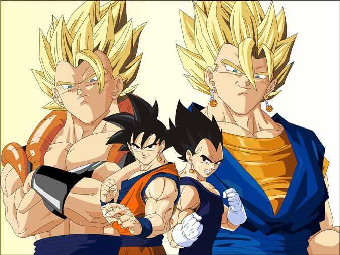 Best anime characters vegeta and son goku are they - Dbz goku vegeta ...