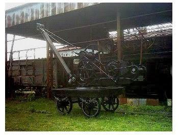 Histórico Guinche Manual  del primitivo Ferrocarril del Oeste (1864)