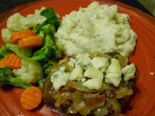 smothered filet mignon