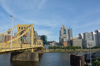 Pittsburgh skyline from PNC Park in PIttsburgh