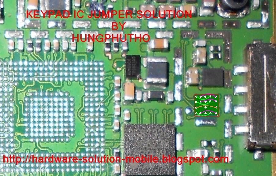 NOKIA 5230 KEYPAD IC JUMPER