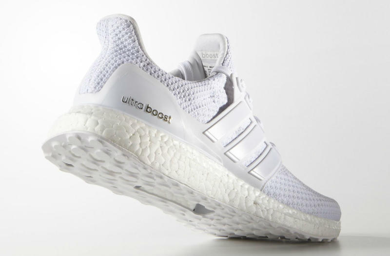 White Adidas Ultra Boost Ebay