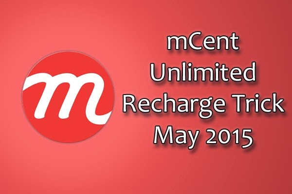 Unlimited-mCent-Free-Recharge-Trick