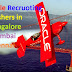 Oracle recruitment freshers as software Engineers Metro cities