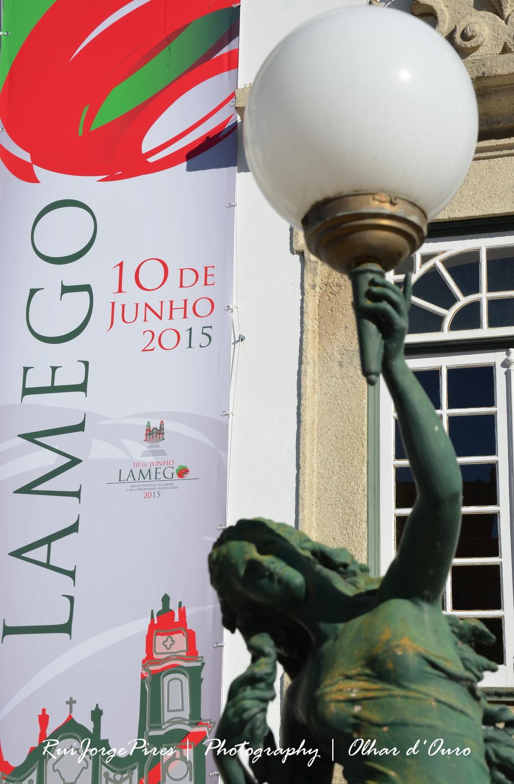 Imagens das comemorações do Dia 10 de Junho 2015 em lamego.