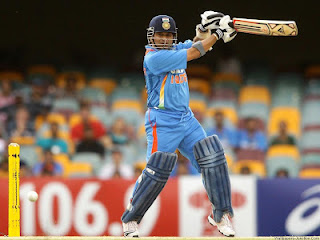 sachin tendulkar-sachin playing a square against a fast bowler