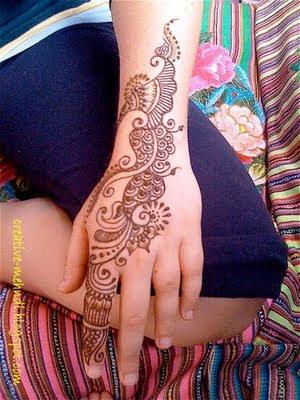 Simple Mehndi Design For Left Hands Zee Post