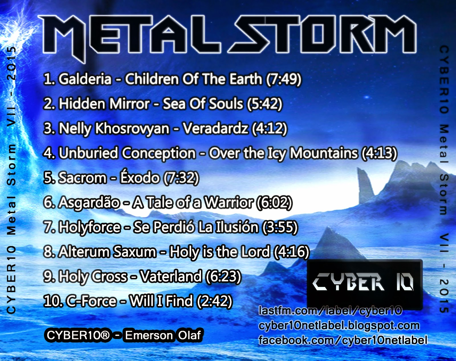 gamma ray discography metal storm