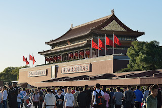 Tian'anmen during National Day 2012
