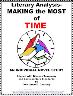 Literary Analysis-MAKING THE MOST OF TIME