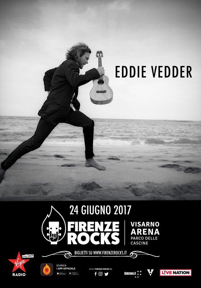 Eddie Vedder - Firenze 24.06.2017