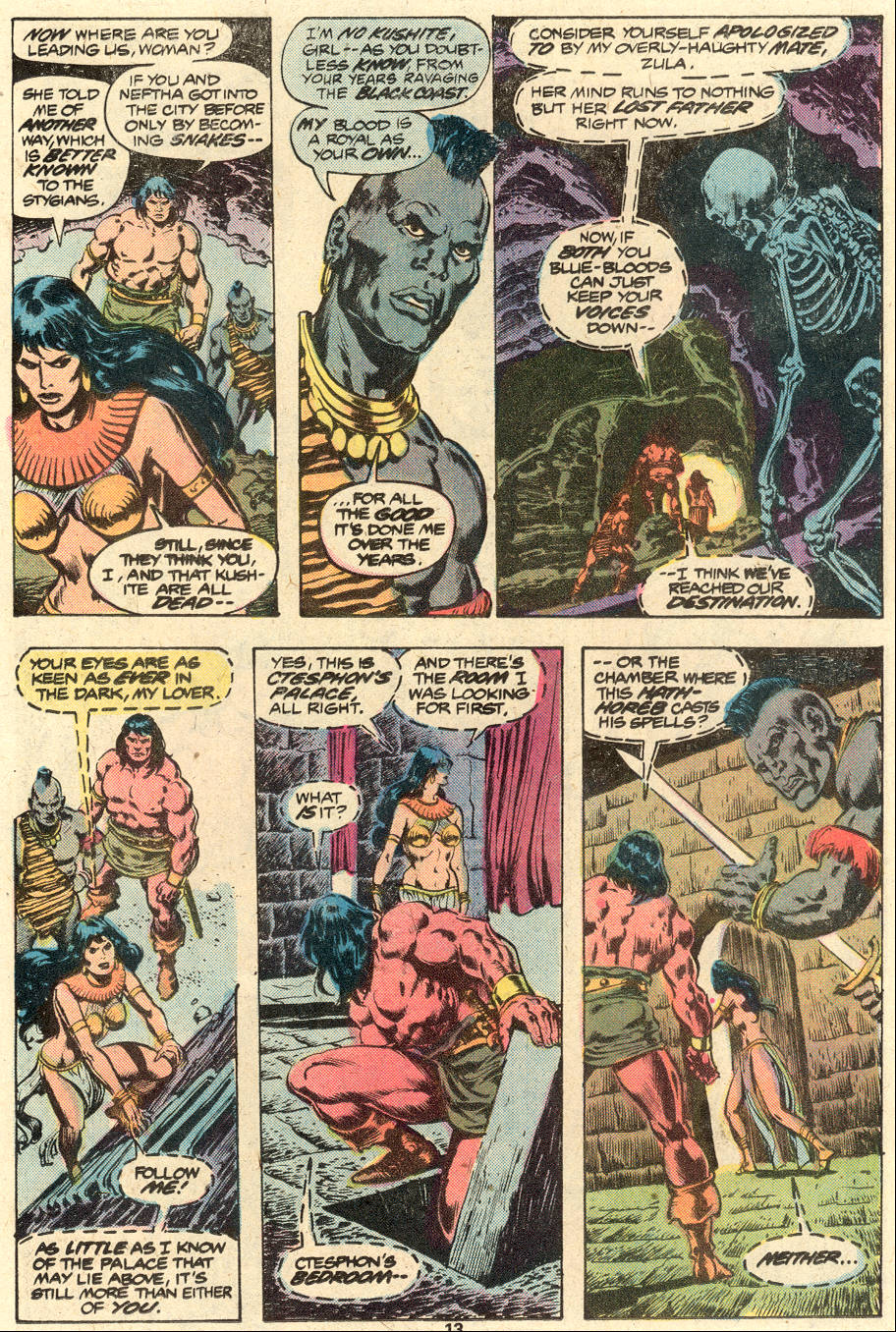 Conan the Barbarian (1970) Issue #88 #100 - English 10
