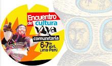 ENCUENTRO DE CULTURA VIVA COMUNITARIA - 2013