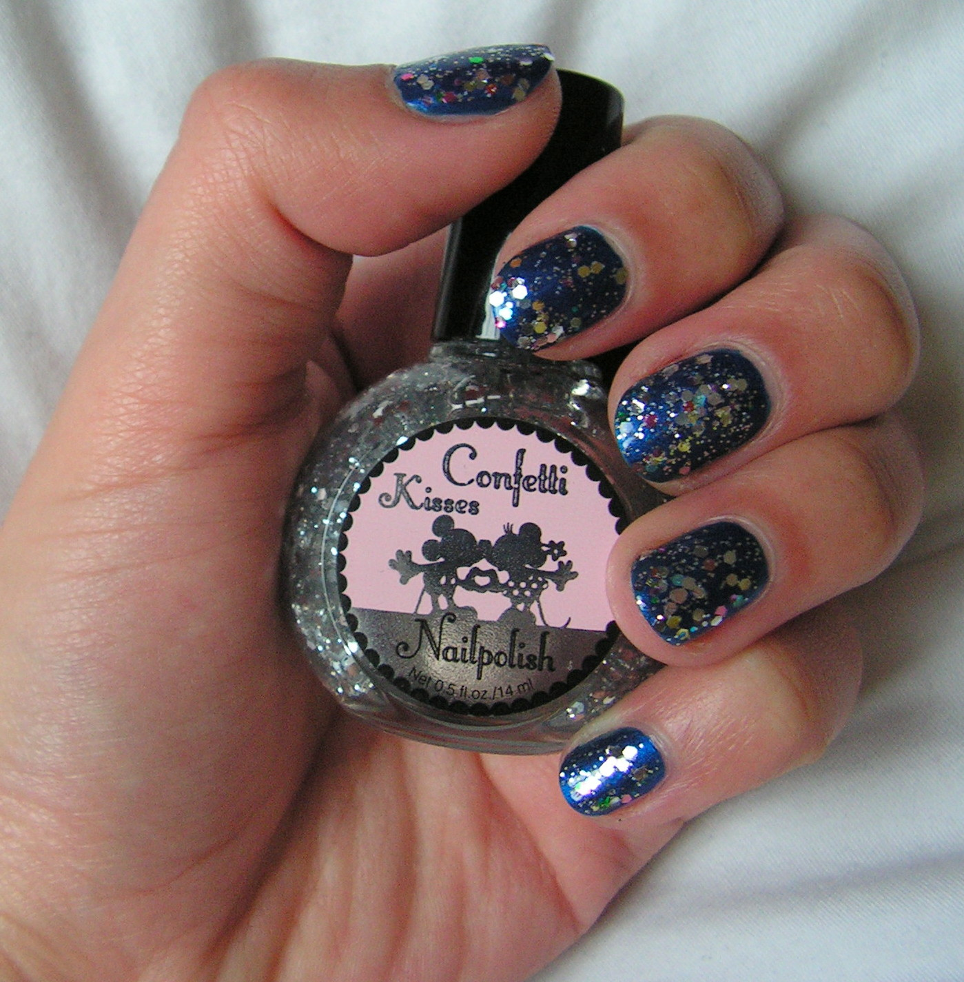 Keeping Up With The Kelly: NOTD: Happy New Year nails