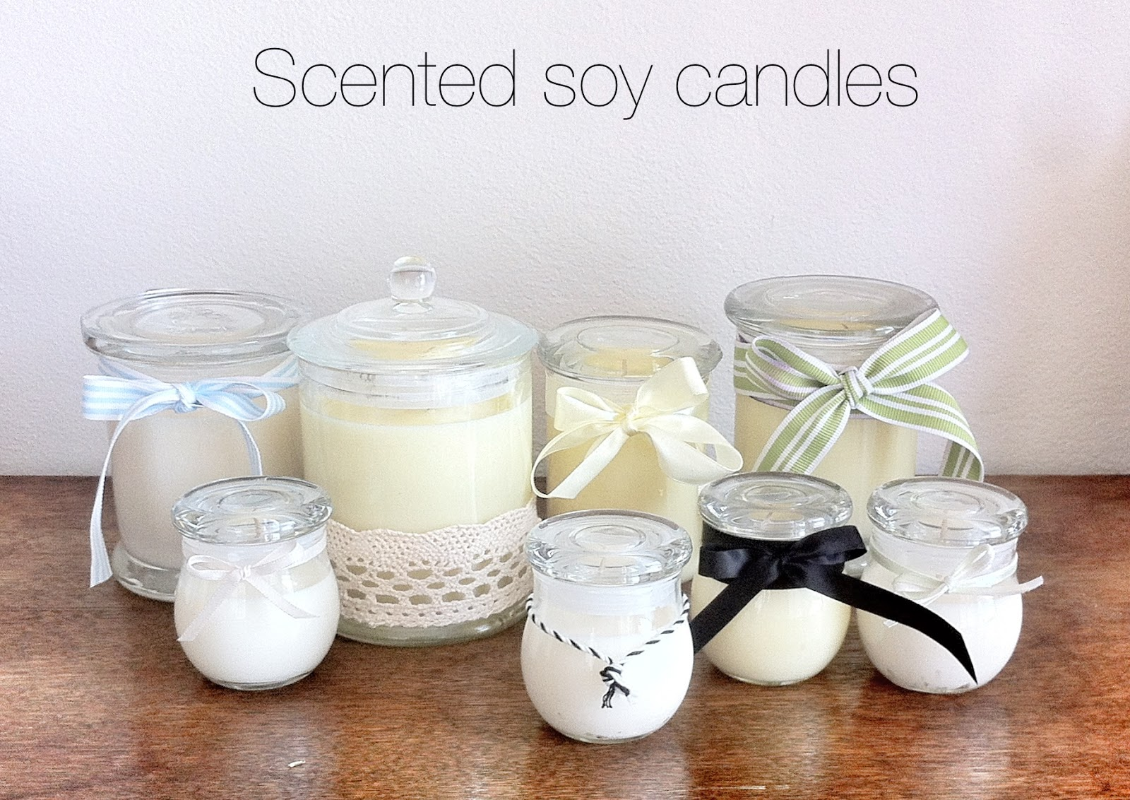 Image gallery homemade scented candles for Scents for homemade candles