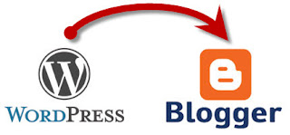 How to move Post from WordPress to Blogger Withing more than 1 Mb