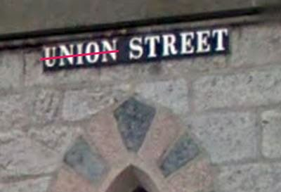Union Street will not be an acceptable street name after a Yes vote