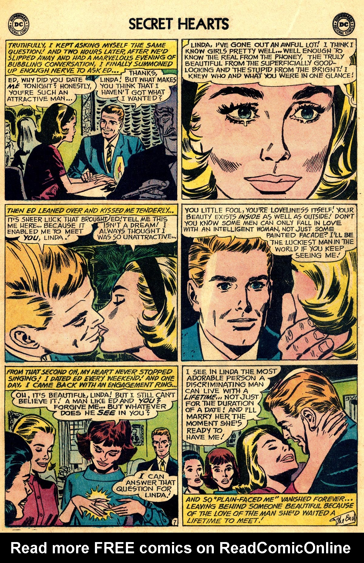 Read online Secret Hearts comic -  Issue #92 - 9