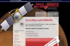 La NASA permite enviar mensajes a Marte: Go to Mars with MAVEN