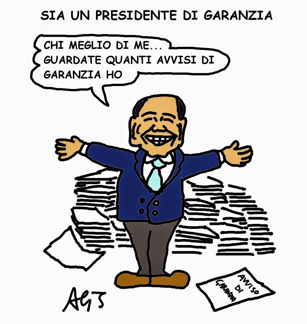 Berlusconi, presidente, satira, vignetta