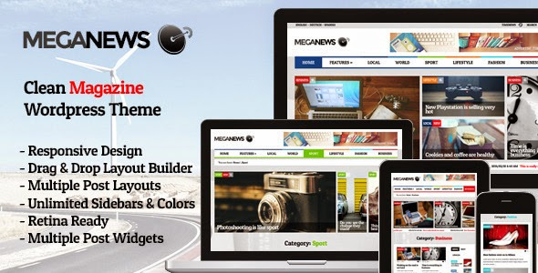 Maganews v1.5 -Magazine Responsive Wordpress Theme Free Download ...